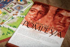 Pompeya, juegos de mesa que te trasladarán a otra época
