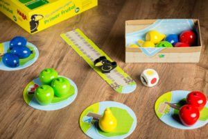Primer frutal., juegos de mesa a partir de 2 años