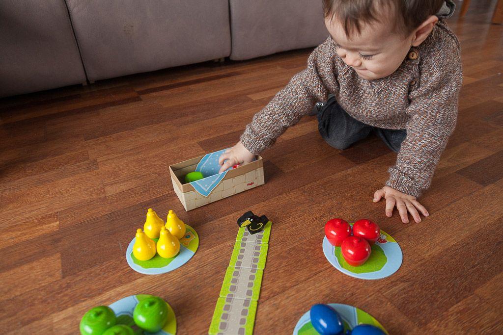 Primer frutal, juegos de mesa para que mis hijos jueguen solos
