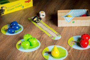 Primer frutal, juegos infantiles de HABA