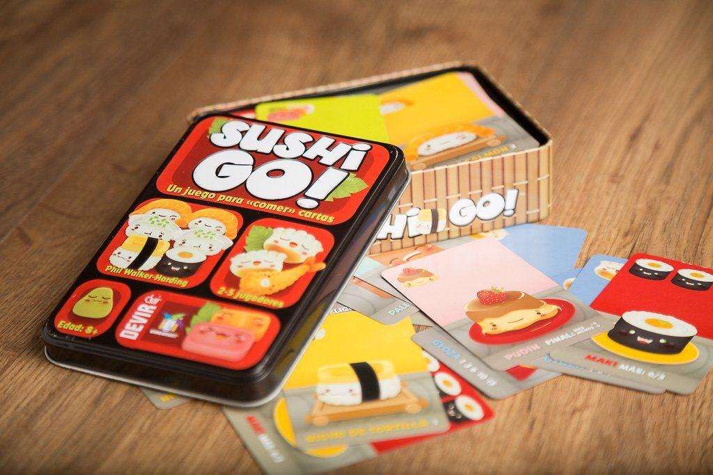 Sushi go!, los mejores juegos de mesa de la editorial Devir