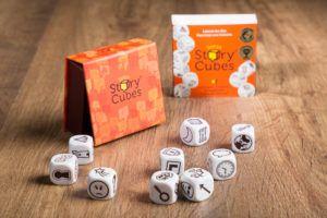 Story cubes, juegos de mesa para llevar en el bolso
