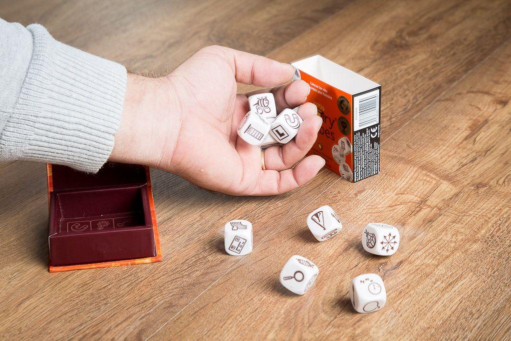 Story Cubes, juegos de mesa para jugar en el hospital