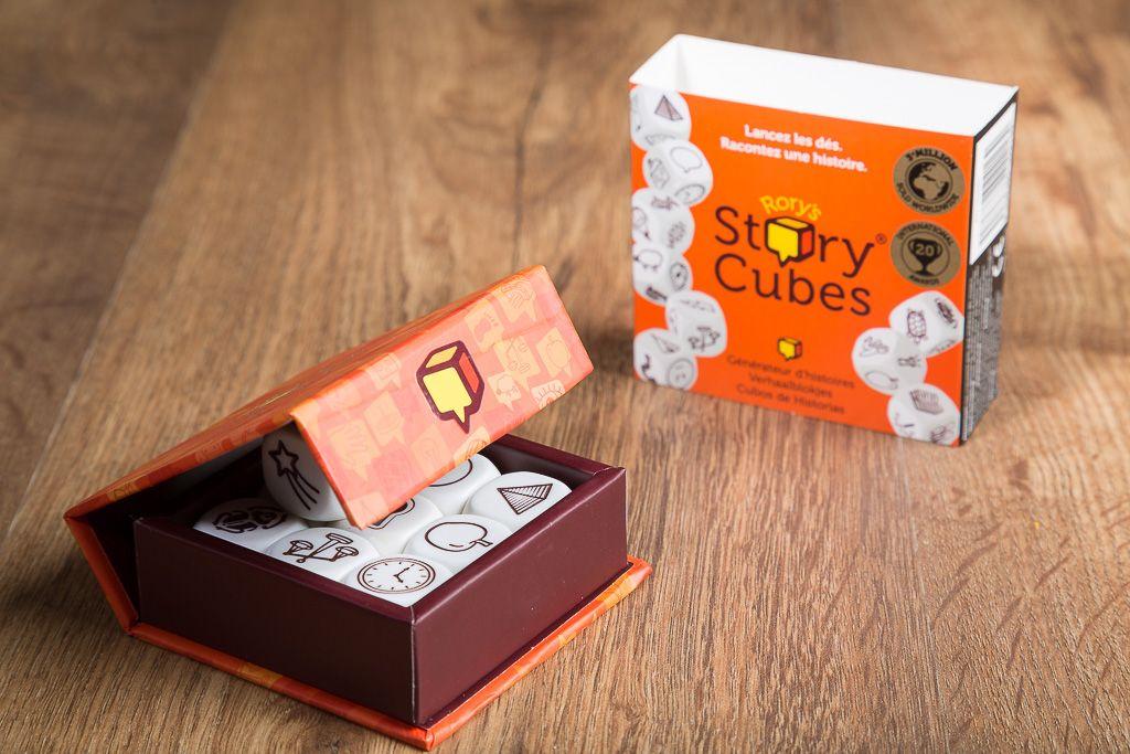 Story cubes, beneficios de los juegos de mesa