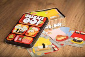 Suhi go!, Juegos de mesa para abrir el apetito
