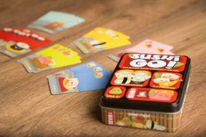 Sushi go! , juegos de mesa para jugar con tus compañeros de piso