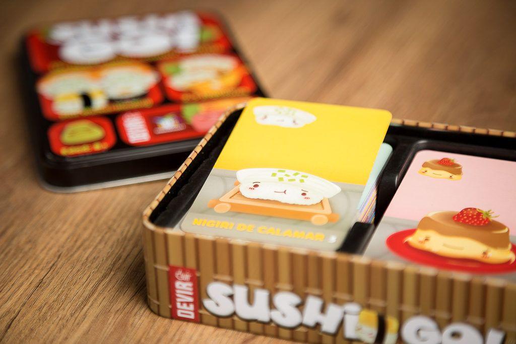 Sushi Go!, juegos de mesa para jugar en los cumpleaños