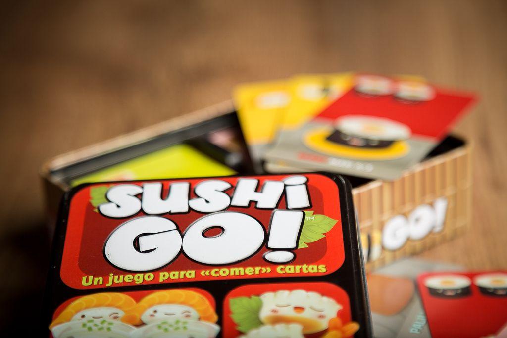 Sushi Go!, juegos de mesa para divertirse tomando cañas