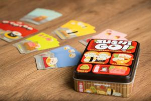 Sushi go!, juegos de mesa para llevar en el bolso