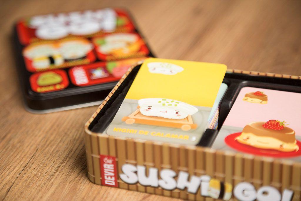 Sushi go!, juegos de mesa para regalar a tu amigo invisible