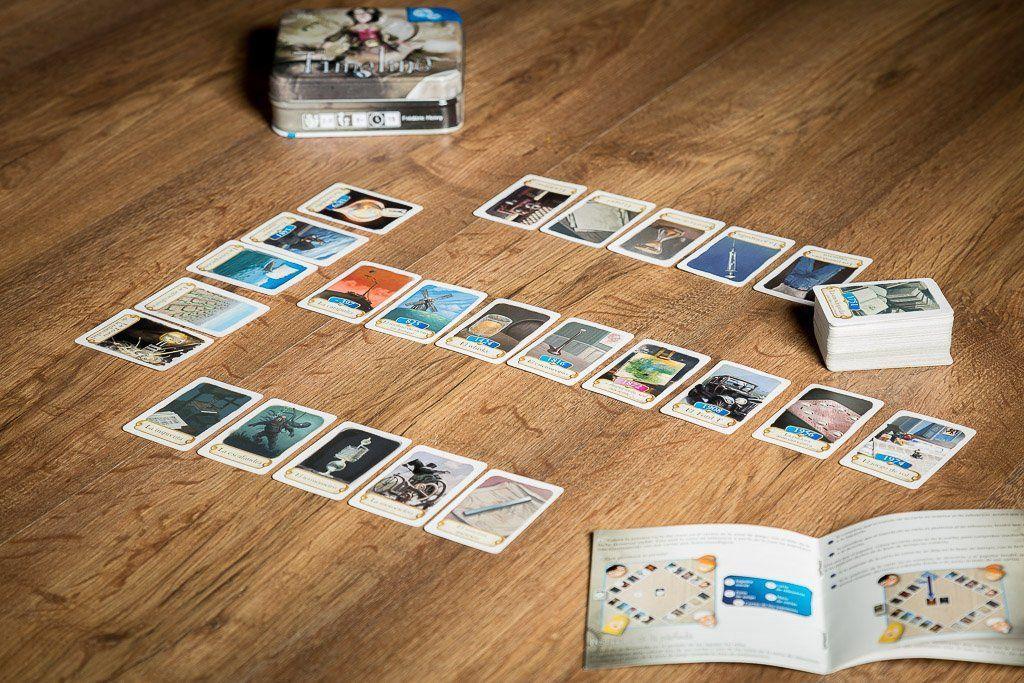 Timeline, juegos de mesa para aprender