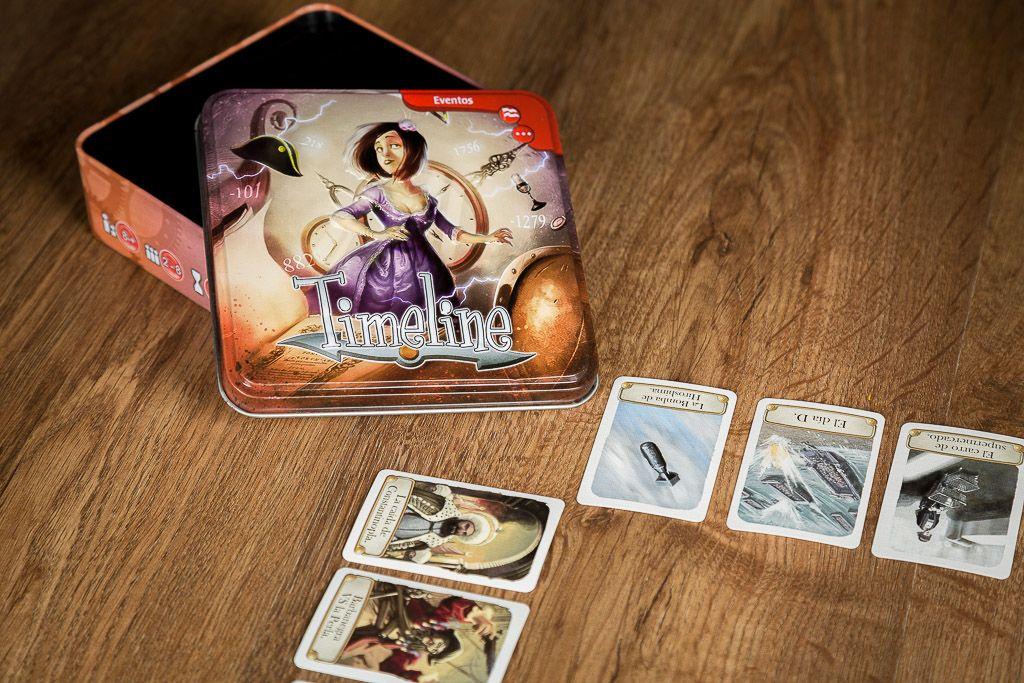 Timeline, juegos de mesa para desarrollar la memoria
