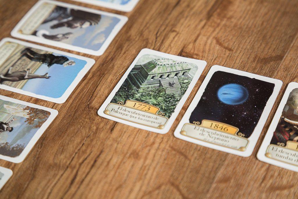Timeline, juegos de mesa para jugar con tu compañero de mesa