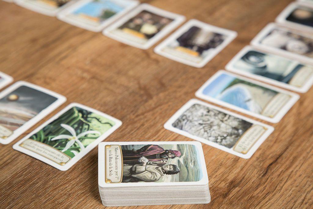 Timeline, juegos de mesa para llevar en el bolso