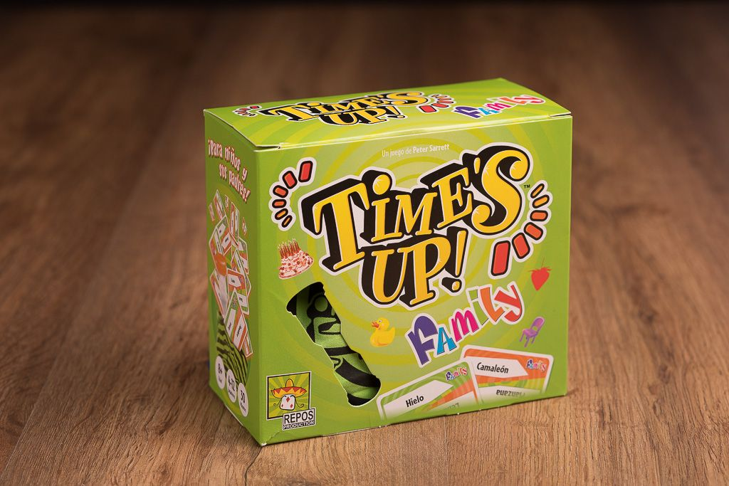 Time's Up Family, juega en inglés en familia
