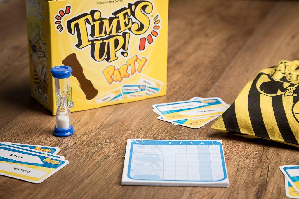 Time's up party, juegos de mesa divertidos