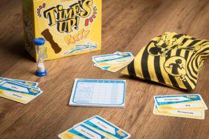 Time's uo Party, juegos de mesa para despedir el otoño