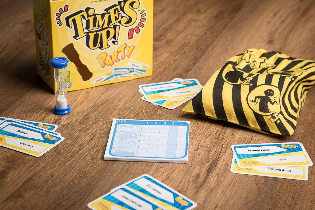 Time's up party, juegos de mesa para familias numerosas