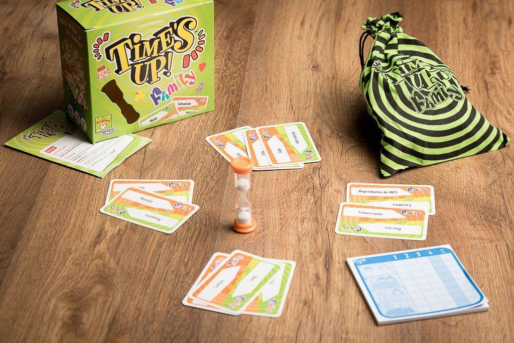 Time's Up, juegos de mesa para desarrollar el razonamiento logico