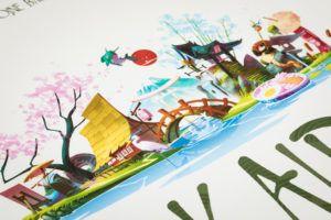 Tokaido, juegos de mesa para fiestas temáticas
