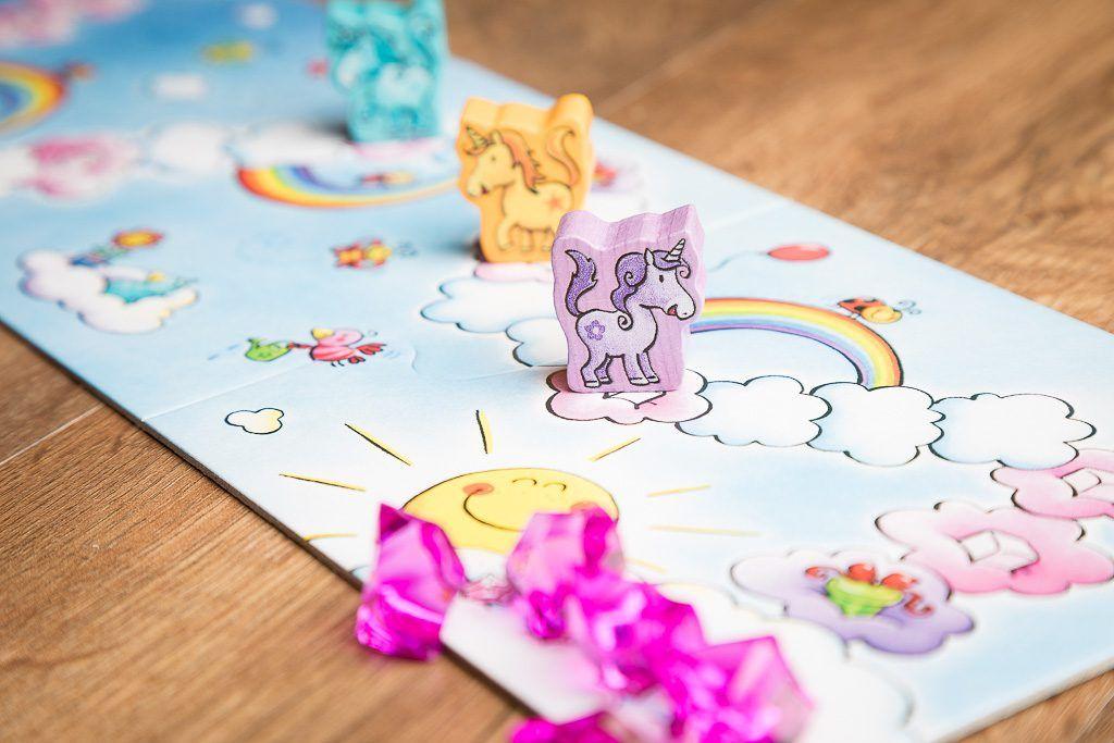 Unicornio destello, juegos de mesa para niñas