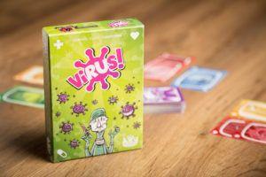 Virus!, juegos de mesa para esperara los niños