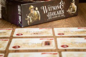 Watson & Holmes, juegos de mesa para fiestas temáticas